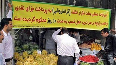 Photo of ۳ واحد صنفی به دلیل گرانفروشی در مشهد مقدس پلمب شد