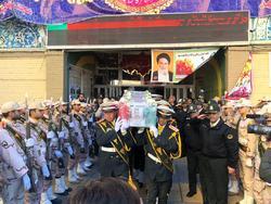 Photo of پیکر شهید مرزبانی در مشهد تشییع و به خاک سپردهشد