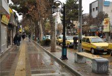 Photo of پیادهروهای خطرناک بولوار صبا در منطقه هفت شهرداری مشهد