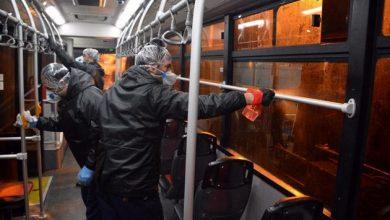 Photo of اعتراض به شیوه ضدعفونی اتوبوسهای مشهد