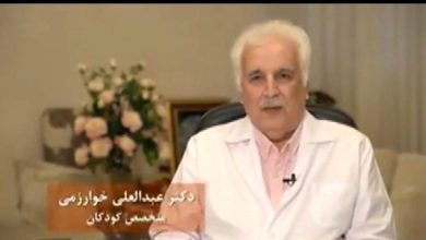 Photo of استاد گروه اطفال دانشگاه علوم پزشکی مشهد شهید خدمت شد