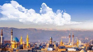 Photo of کیفیت هوای کلانشهر مشهد سالم است