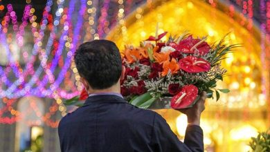 Photo of نقارههای حرم مطهر رضوی فرا رسیدن عید غدیر خم را بشارت دادند