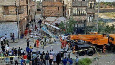 تصویر تخریب سوپرمارکت در بولوار توس جان ۲ دختر را گرفت