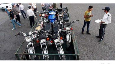 تصویر توضیح پلیس در مورد انتشار کلیپ درگیری مامور راهور با موتورسوار متخلف